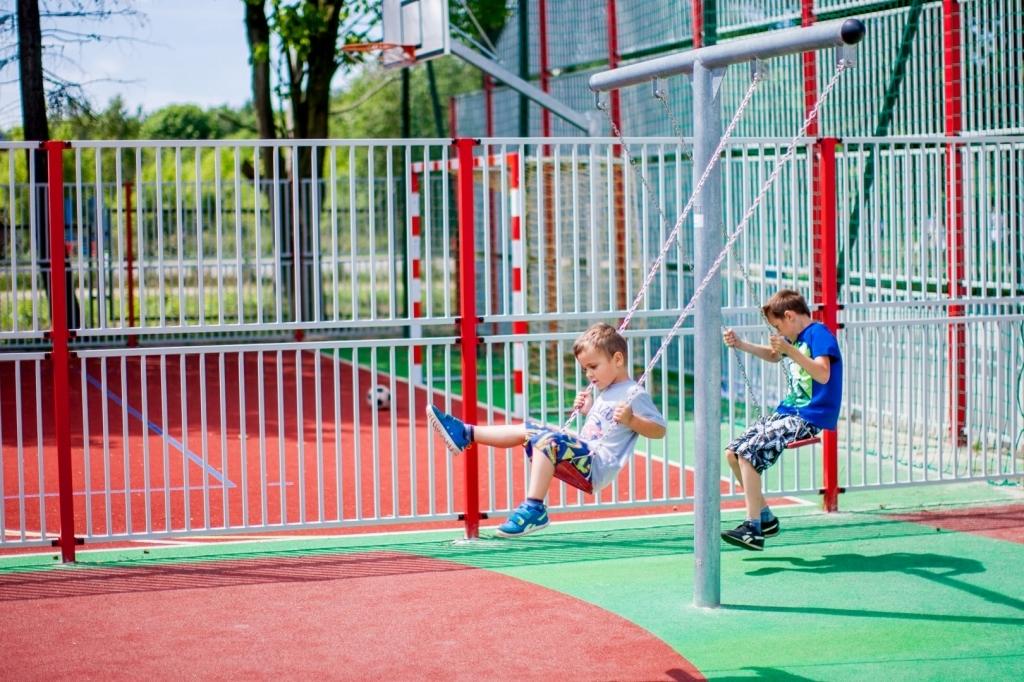 Metal Schaukel Rahmen (Doppel), Schaukel, Spielplätze Ausrüstung ...