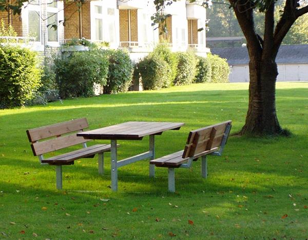 Picknick Tisch Bank Mit Lehne Tische Park Amp Stadtm 246 Bel