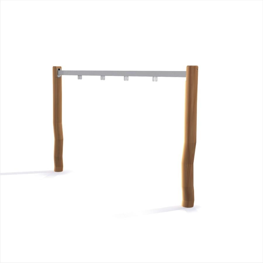 Schaukel Rahmen Nature (Doppelt), Schaukel, Spielplätze Ausrüstung ...