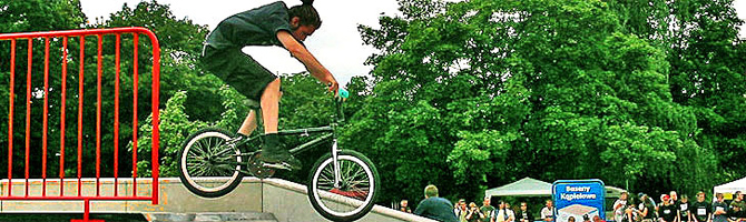 Beton Skate Rampen