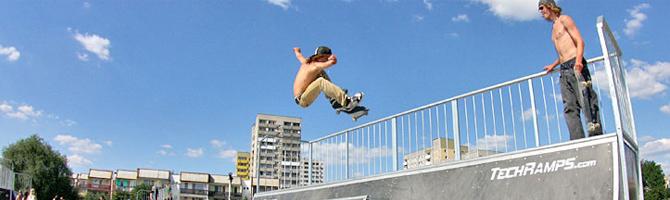 Skate Park Techrampe
